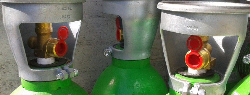 ricarica bombole gas